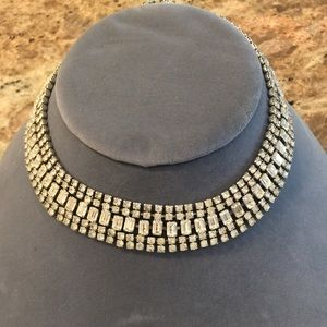 Vintage Weiss 5 Row Choker Necklace